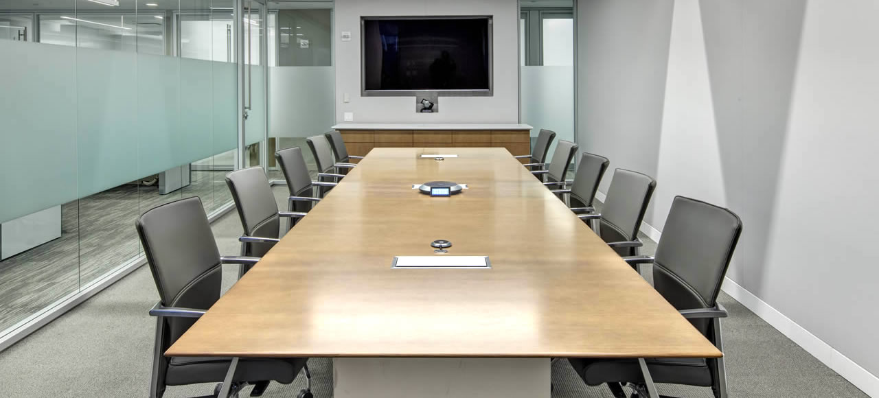 Conference Tables Prismatique - Glass conference table for sale