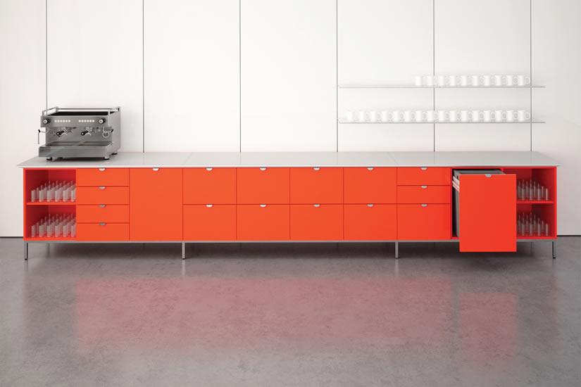 La Credenza Supplier : Cabinets & credenzas prismatique