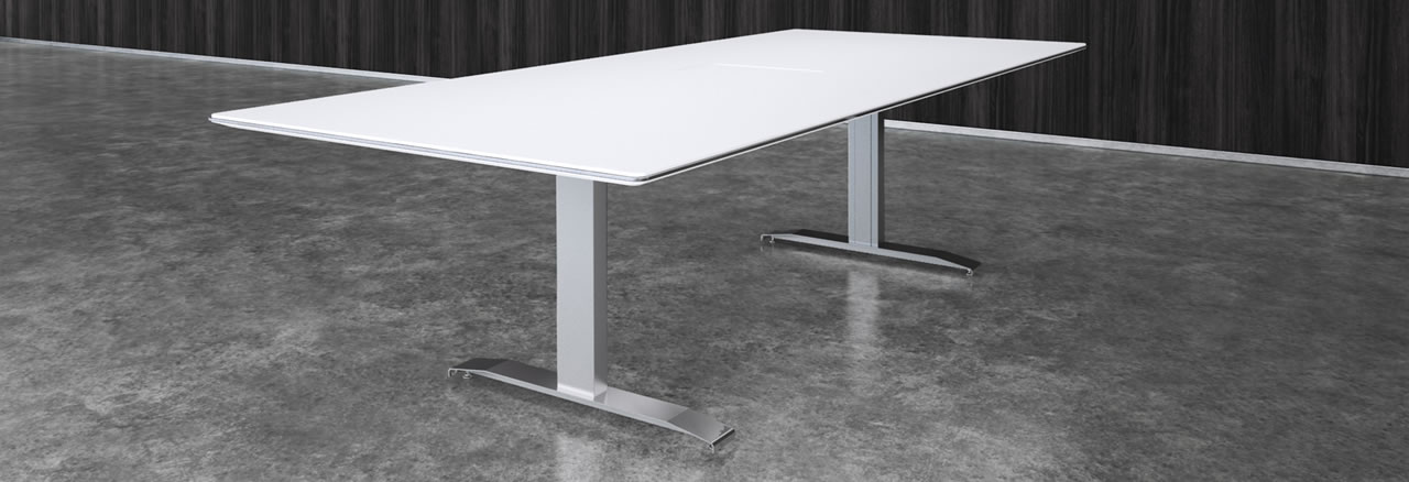 Nextt TBase Prismatique - Conference table bases metal